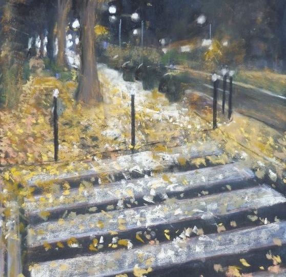 le bel automne à BLR I, pastel