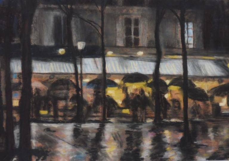 Montmartre, pastel